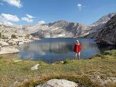 Vysoké sierra jezero tramp