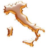 Golden Italy illustration