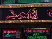 Sex shop neon signs