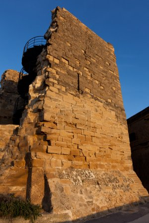 Walls of Briones, La Rioja, Spain