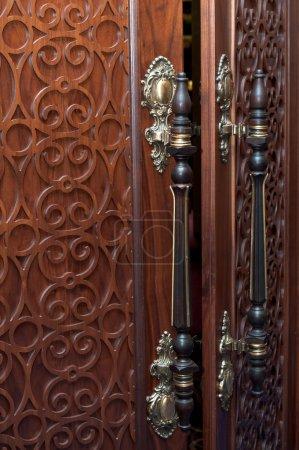 Old door's handles