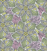 Seamless paisley and floral pattern-model for design of gift packs patterns fabric wallpaper web sites etc