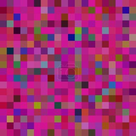 Illustration pour Modèle de pixel coloré. Illustration vectorielle - image libre de droit