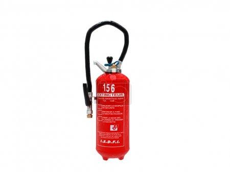 Extinguisher isolated on white background