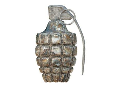 Photo pour Grenade isolé sur fond blanc - image libre de droit