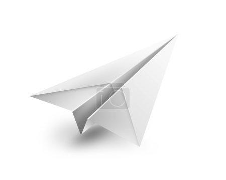 Photo pour Papier avion - image libre de droit
