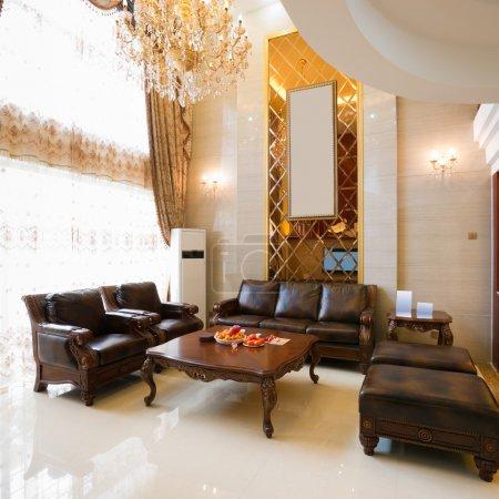 Photo pour Décoration intérieure de maison de luxe - image libre de droit