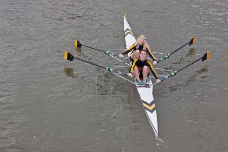 Girl Rowing Crew
