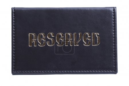Leather reserved