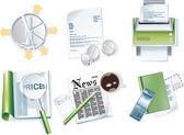 Vector business icon set Part 1