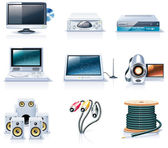Vector household appliances icons Part 7