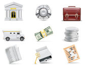 Vector online banking icon set Part 3