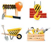 Vector Homebuilding & Renovating icon set Part 4
