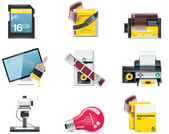 Vector photography icons Part 2