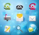 Typical smartphone icons Part 1