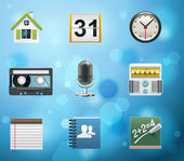 Applications and services icons