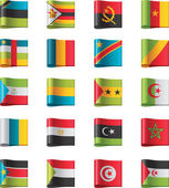 Vector flags Africa part 10