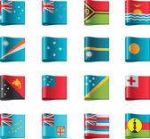Vector flags Oceania part 12