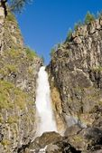 Velký vodopád horách