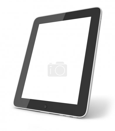 Photo for Tablet pc on the white background - Royalty Free Image