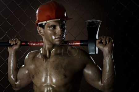 Sexy workman