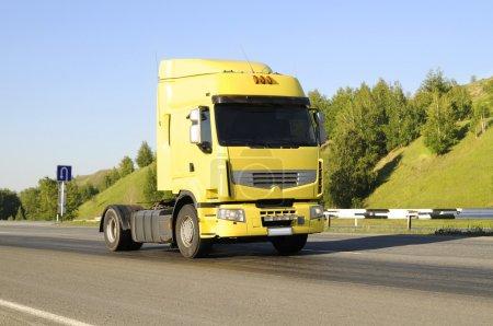 Empty lorry