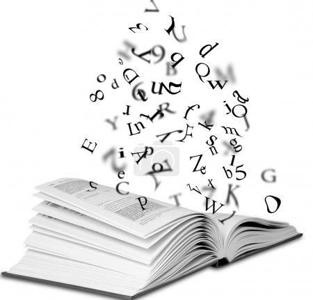 Open book...
