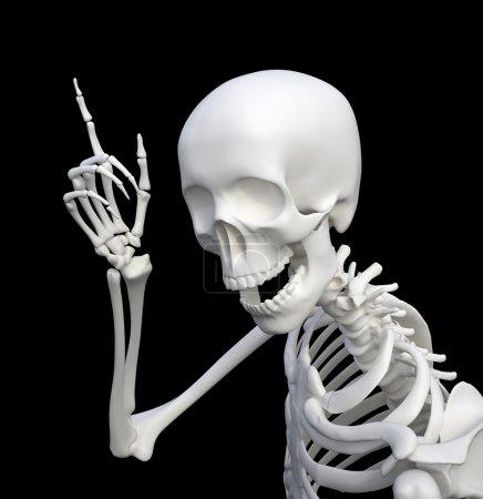 Eureka! Skeleton just had an idea!