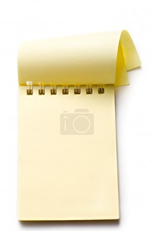 Photo for Notepad on the white background - Royalty Free Image