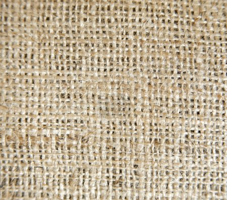 Photo for Brown coloured texture woven linen background - Royalty Free Image