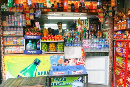 Indian shop stall