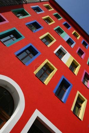Photo pour Entrée et windows sur le renforcement des - image libre de droit