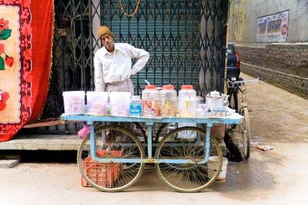 Male street vendor