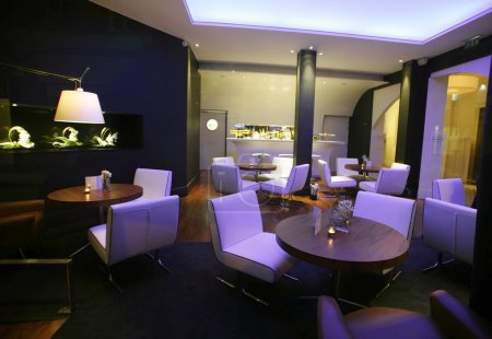 Stylish lounge bar