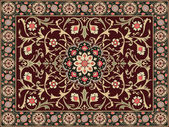 Arabic style carpet design