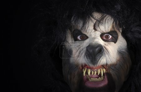 A Close Up of the Face of a Werewolf