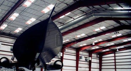 An SR-71A Blackbird