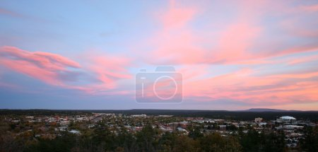 A Gorgeous Twilight Sky Over Flagstaff, Arizona