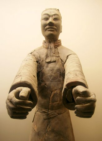 A Terracotta Army Officer, Xi'an, Shaanxi, China