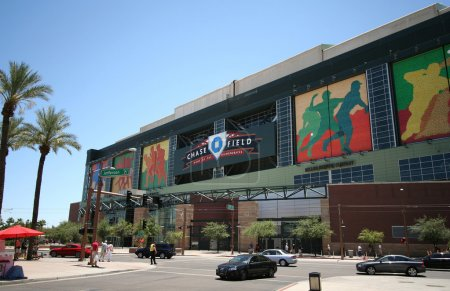 Chase Field in Phoenix, Arizona, Home of the Arizona Diamondbacks