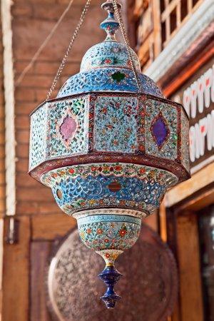 Oriental chandelier, Esfahan, Iran