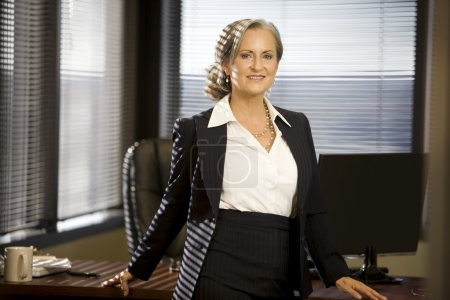 Attractive Businesswoman in The Office