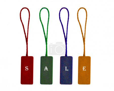 Labels with word sale