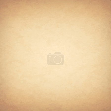 Illustration for Grunge Vintage Old Paper Background, Vector Illustration - Royalty Free Image