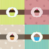 Cake Card Template Set