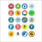 Vector Social Media Icons 2
