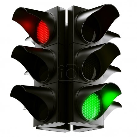 Traffic light cross