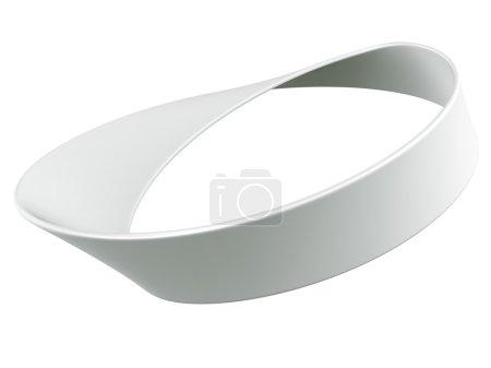 3d rendering of a Mobius strip...
