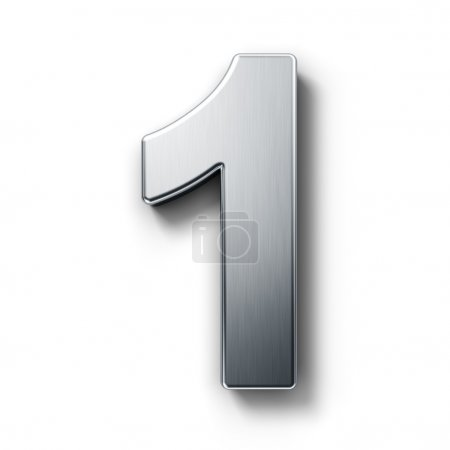 The number 1