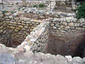 The remains of the ancient city of Chersonesus.